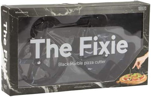 black marble Doiy Fixie Pizzaschneider