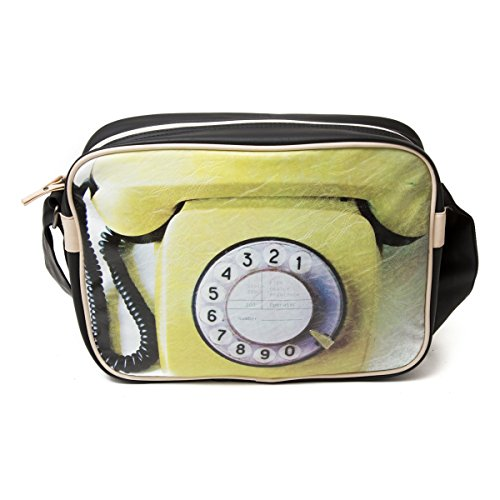 Messenger Vintage Bag Retro 746 School Look Shoulder Plan Telephone B Rotary xa487