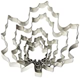 Fox Run 36092 Maple Leaf Cookie Cutter Set, 6 Piece, Silver