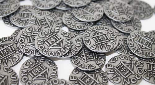 Renegade Game Studios RGS0818 West Kingdom Metal Coins