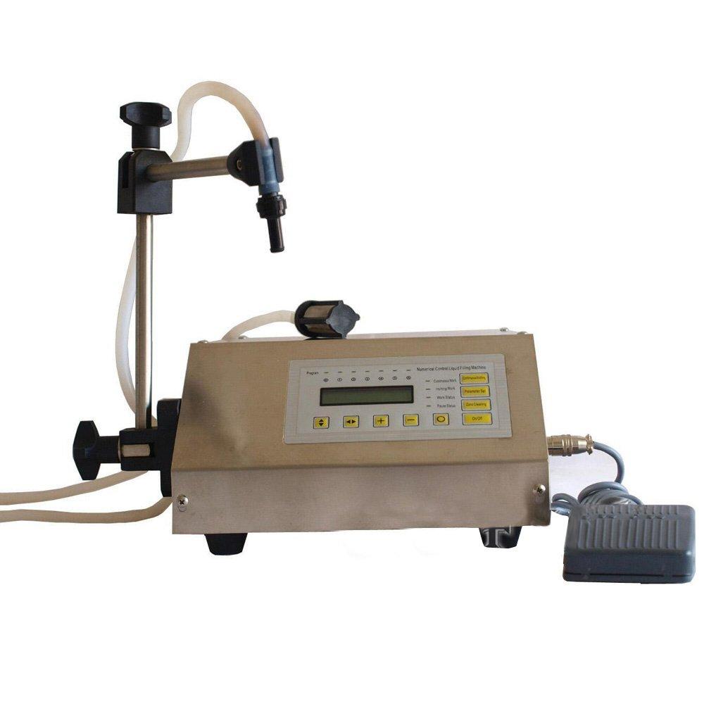 Wotefusi New Industrial Digital Control Pump Drink Water Liquid Filling Machine GFK-160 110V 30W 3.2L/min 5-30 Bottles/min Filling Range: 5-3500ml by Wotefusi (Image #2)