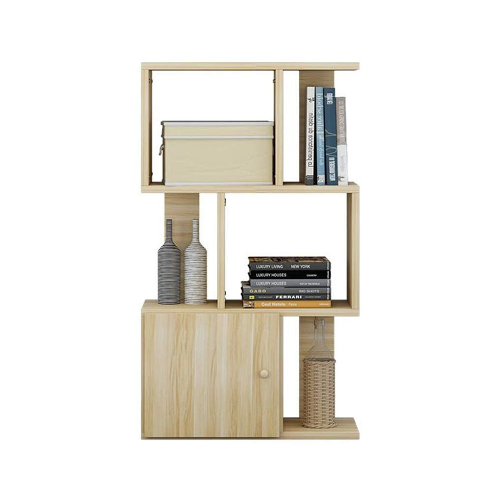 XUERUI オープンシェルフラック 木製本棚引き出し付き学生用収納ラック現代のスペースを節約 多機能 (サイズ さいず : 80x24x97cm) B07S1LWL75  80x24x97cm