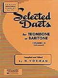 #2: Selected Duets Trombone Or Baritone Vol2 (Rubank Educational Library)