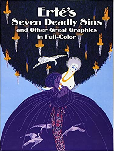 Amazon Ertes Seven Deadly Sins And Other Great Graphics In Full Color Dover Fine Art History Of 0800759246458 Erte Books