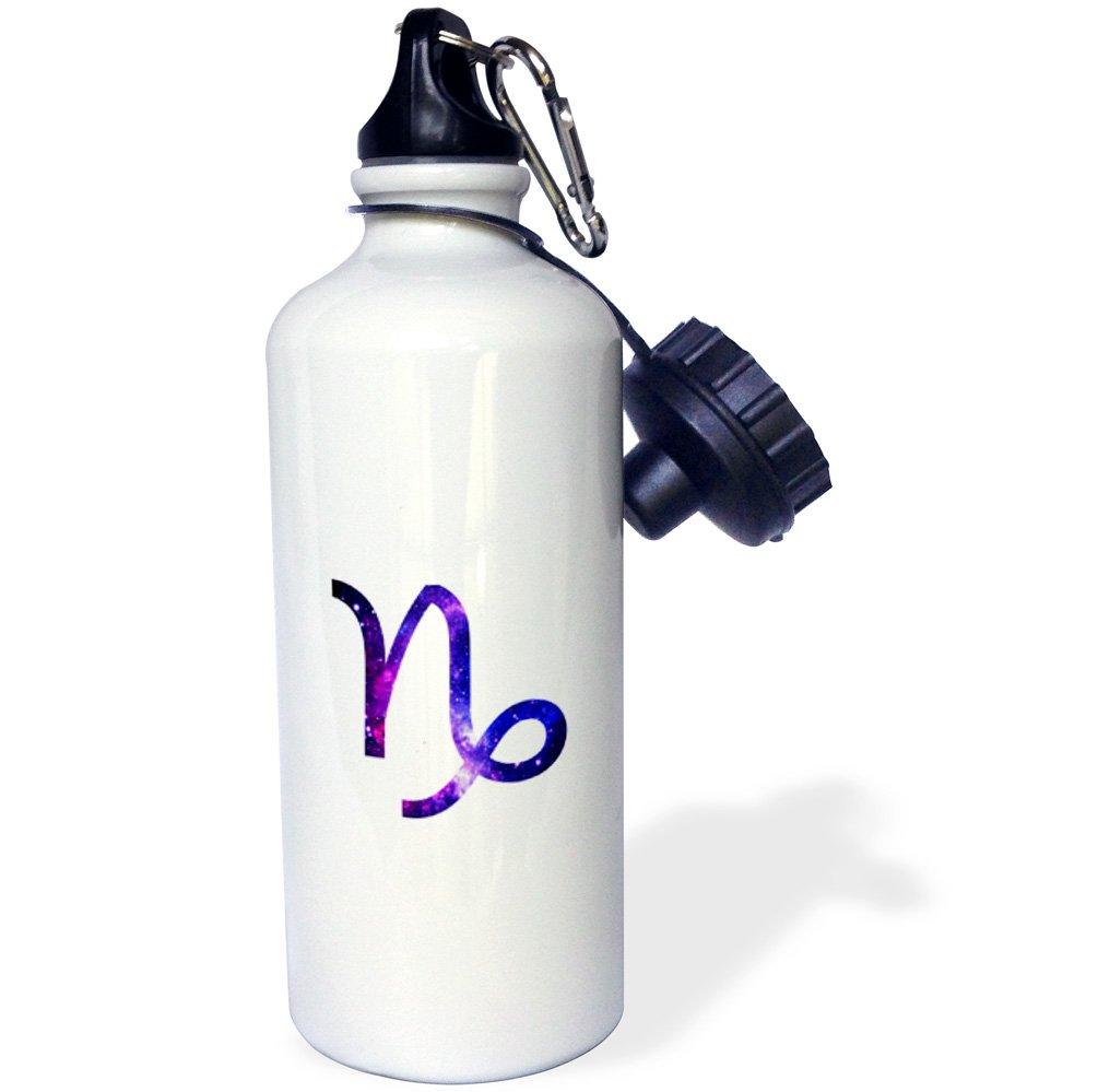 wb/_202156/_1 Multicolored 3dRose Gemini Symbol Colorful Girly Design-Pastel Horoscope Zodiac Sign-Sports Water Bottle 21oz