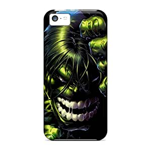 Bumper Hard Phone Cover For Apple Iphone 5c With Support Your Personal Customized Attractive Hulk Wall Series Hardcase88