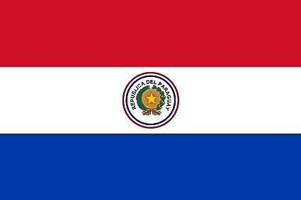 magFlags Bandera Large Paraguay 1842-1954   Paraguay from 1842 to 1954   bandera paisaje