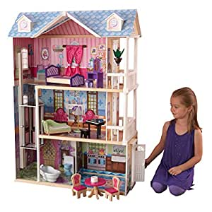 Amazon KidKraft My Dreamy Dollhouse With Furniture Toys Games
