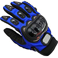 ZHHBeaty Motorcycle Gloves Windproof Coldproof Winter Cycling Gloves for Motorcycle Motocross Running Climbing Skiing Outdoor Sports Women Men (Red, Medium)