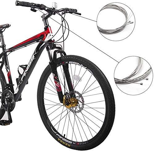 GreeSuit 2-in-1 Universal Fahrrad Bremskabel und Fahrrad Schaltzug mit Geh/äuse Ersatz Steuerleitung Set f/ür Mountainbike Rennrad