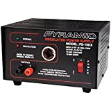 Pyramid X 10A 13.8V Power Supply with Cigarette Lighter Adapter PS15K