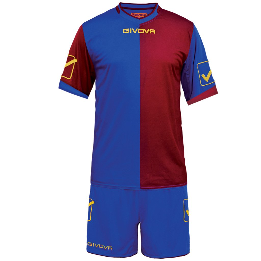 TALLA XS. givova kitc22, Camiseta y Pantalón Corto De Fútbol Unisex Adulto