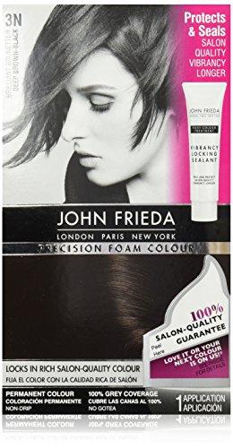 John Frieda Precision Foam Colour, Deep Brown Black - Brown Black And Color