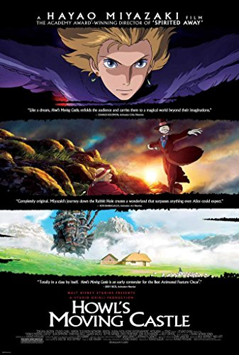 Howl's Moving Castle Movie Poster 2 Sided Original Hayao Miyazaki