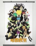 Wall Scroll Poster Fabric Painting For Anime Assassination Classroom Key Roles 013 S