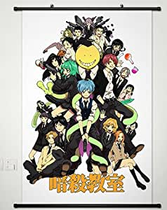 animation assassination classroom wall scroll poster cosplay in ches 013. Black Bedroom Furniture Sets. Home Design Ideas