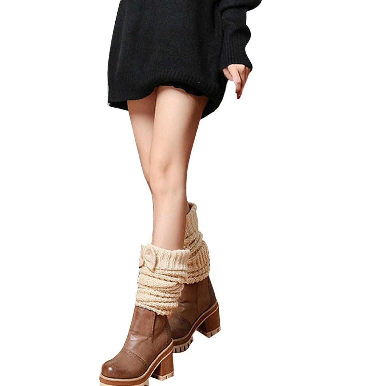 Women's Socks,Neartime Leg Warmer Bowknot Knitted Stockings Socks for Women