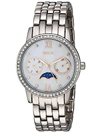 Relic Women's 'Emily' Quartz Metal and Alloy Casual Watch, Color:Silver-Toned (Model: ZR15915)