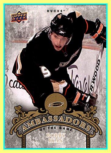 Bobby Ryan Anaheim Ducks - 2010-11 Upper Deck Ambassadors of the Game #AG33 Bobby Ryan ANAHEIM DUCKS