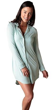 Faceplant Dreams Dreamwear Bamboo Boyfriend Nightshirt at Amazon ... bf6a47c4c