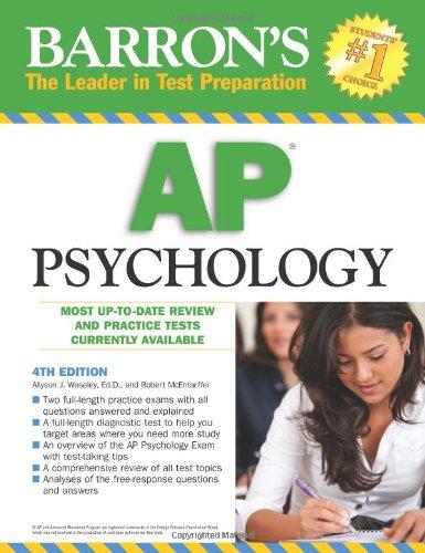 Barron's AP Psychology (Barron's: the Leader in Test Preparation)