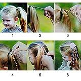 Jaciya 6 Pack Women Girls Hair Twister Braider