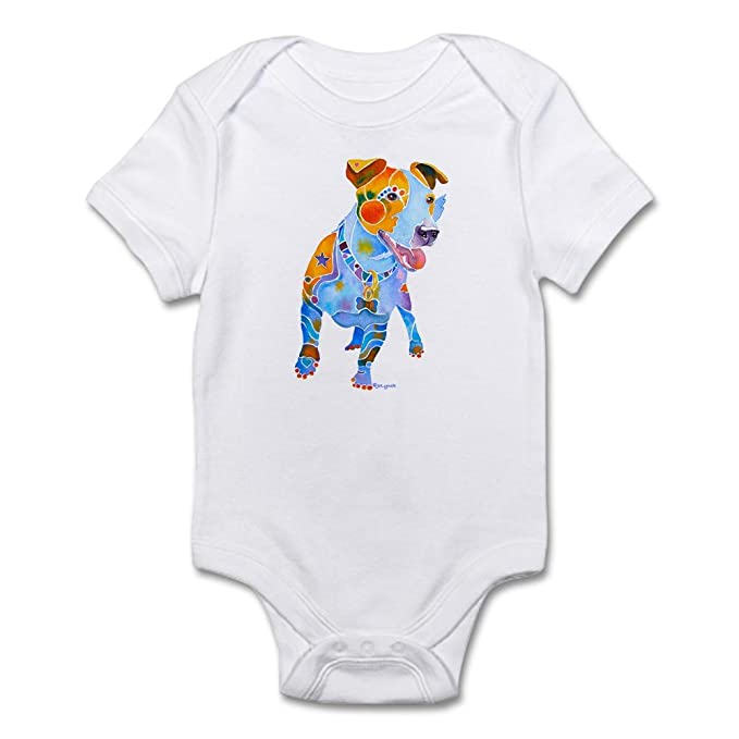 fde9b08f68 CafePress Jack Russell Terrier Many Colors Infant Bodysuit Cute Infant  Bodysuit Baby Romper Cloud White