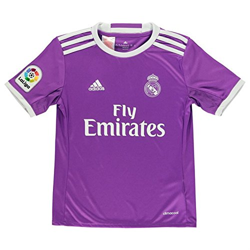 adidas 2016-2017 Real Madrid Away Football Soccer T-Shirt Jersey (Kids)