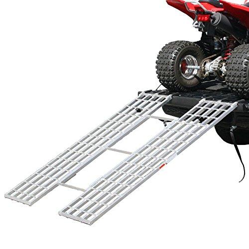 Rage Powersports Black Widow Aluminum Tri-Fold Extra-Wide ATV Loading Ramp - 71