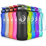 Sports Water Bottle 1000ml/800ml/20oz, For Kids/Adult, Leak Proof BPA-Free Eco-Friendly Portable Bottles for Camping, Hiking, Cycling, Outdoors, Gym, Yoga, Running, Flip Top Lid & Filter, Pop Open Lid