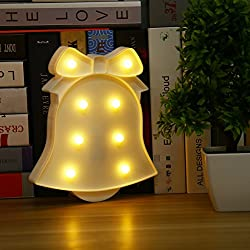 Zehui Cute Christmas LED Night Light Toy for Baby Kids Bedroom Home Decorative Lamp