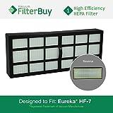 eureka vacuum filter hf 7 - Eureka HF-7 (HF7) HEPA Replacement Filter, Part # 61850. Designed by FilterBuy to fit Eureka 3270 Series Upright Vacuum Cleaner