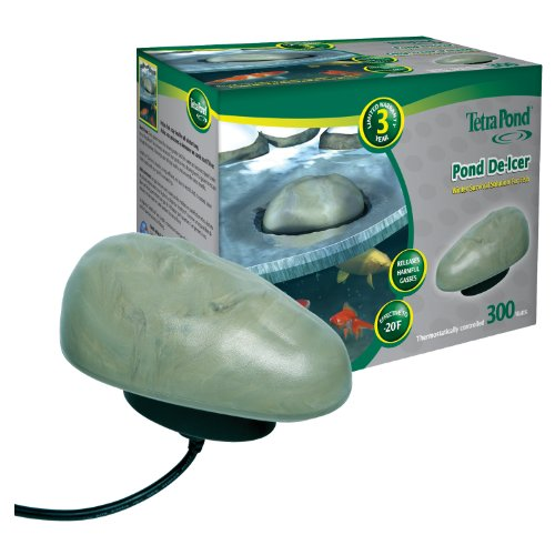 Outdoor Heater Finish - Tetra Pond Pond De-icer, Thermostatically Controlled, 300-Watts
