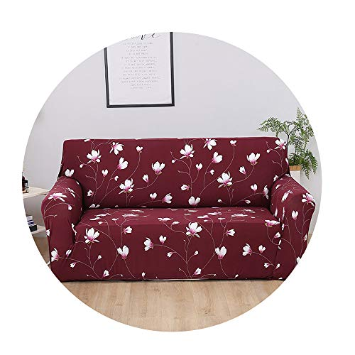 ZFADDS New Modern Printing Sofa Cover Anti-Dirty Full Tight Wrap Couch Cover Furniture Covers Home Decoration,Color 16,1Seater 90-140Cm (Kmart Lazy Boy Outdoor Furniture)