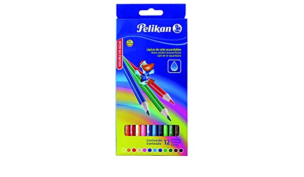 Pelikan 010012413 - Estuche cartón con 12 lápices: Amazon.es: Oficina y papelería