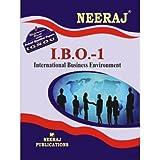 IBO1-International Business Environment (IGNOU help book for IBO-1 in English Medium)
