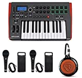 Novation IMPULSE 25 Ableton Live 25-Key USB Keyboard Controller+Speaker+Mics