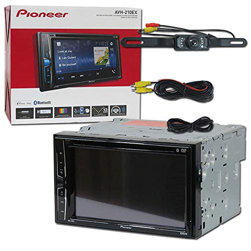 2018 Pioneer Car Audio Double Din 2DIN 6.2 Touchscreen DVD M