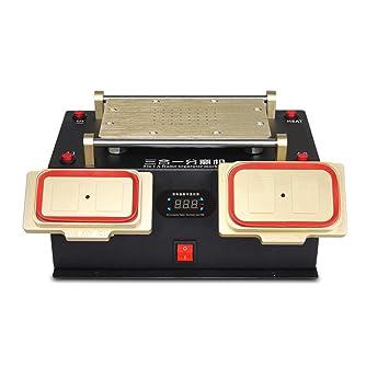 Huanyu 3 en 1 termostato Digital LCD Separador de Pantalla Integrado Bomba de vacío Marco Medio