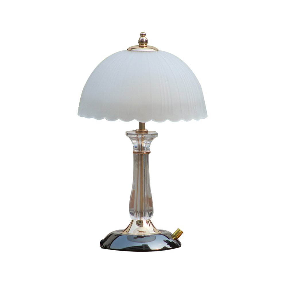 Everyday Table Lamp TL- Tischlampe Modern Minimalistischen Stil PVC Körper Glasschirm Moderne Schlafzimmer Dimmbare Nachttischlampe Geeignet Für Schlafzimmer Nacht Wohnzimmer Studie 25 cm  42 cm