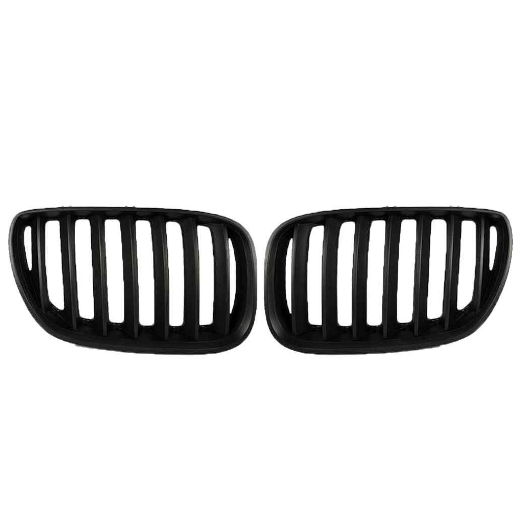 Meisijia Matte noir avant pare-chocs Grille de rein pour X5 E53 3.0 4.4 4.6 4.8 04-06 Facelift
