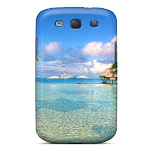 New Diy Design Paradise Sea For Galaxy S3 Cases Comfortable For Lovers And Friends For Christmas Gifts