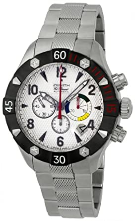 d384df1f486 Image Unavailable. Image not available for. Color  Zenith Defy Classic  Chrono ...