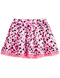 fdc2cb9891aa Mix   Match Tulle-Trim Heart-Print Skirt