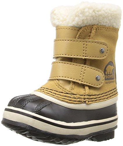 1964 Pac Boot (Sorel 1964 Pac Strap-K Snow Boot, Green, 6 M US Toddler)