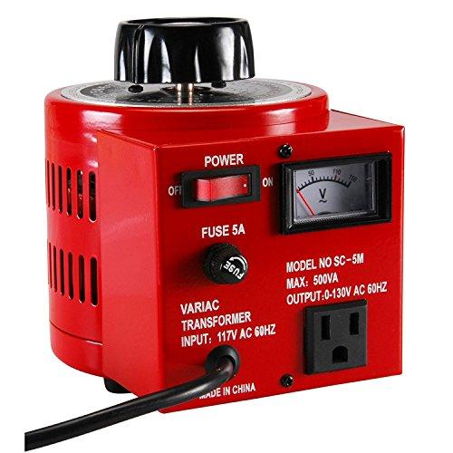 Parts Express 5A Variac Variable AC Power Transformer 0-130 VAC