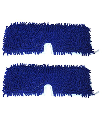 2 Replacements for O-Cedar Microfiber Flip Pad Fits Dual Action Floor Mops, by Think Crucial