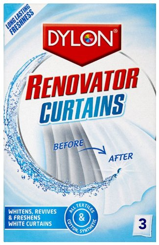 Dylon Renovator Curtains (3 Sachets), Pack of 6 Spotless Punch 96576