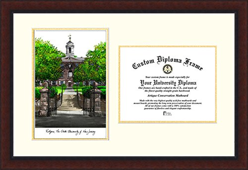 Frame Rutgers Diploma - Campus Images