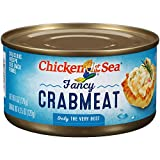 Chicken of the Sea Fancy Crab, 6 ounce Cans (Pack of 12)